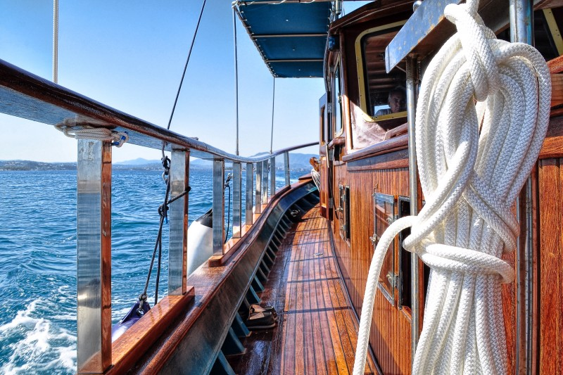 Iroko Wooden Boat